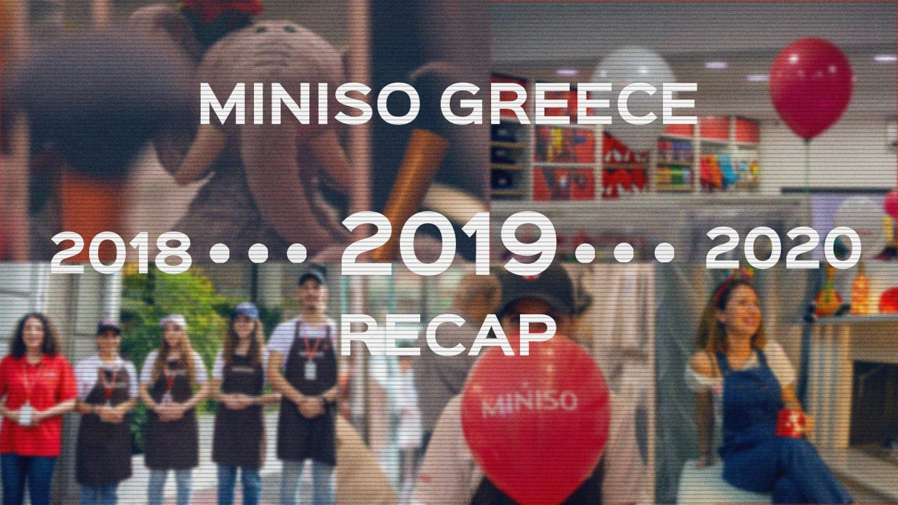 Miniso Greece | Rewind 2019 1