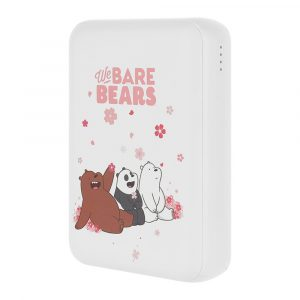 Power Bank 10000mAh Λευκό We Bare Bears